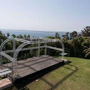 江の島展望灯台下ステージ