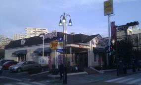 Dennys Fujisawa North Exit