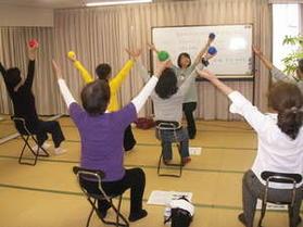 気功をプラスしたADL高齢者体操講座【報告】