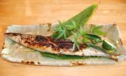 ランチのメイン 3 焼き物 秋刀魚